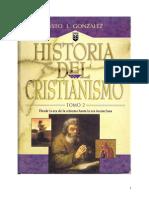 Historia Del Cristianismo - Tomo II - Justo l. Gonzalez - Libro