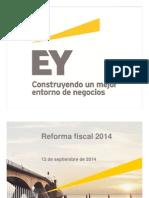 EY Analisis Propuesta Reforma Fiscal 2014