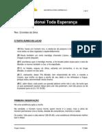 ABANDONAI TODA ESPERANÇA - Lc 16.19-26