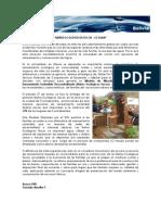 Nota de Prensa Baños Ecológicos