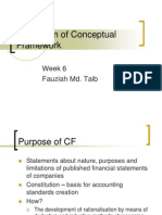 Evaluation of Conceptual Framework Wk6