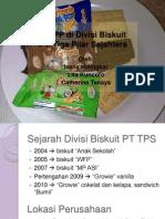 PKIPP Di Divisi Biskuit