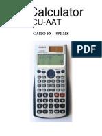 Casio FX - 991MSCalculator
