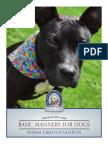 Dog Training E-Book
