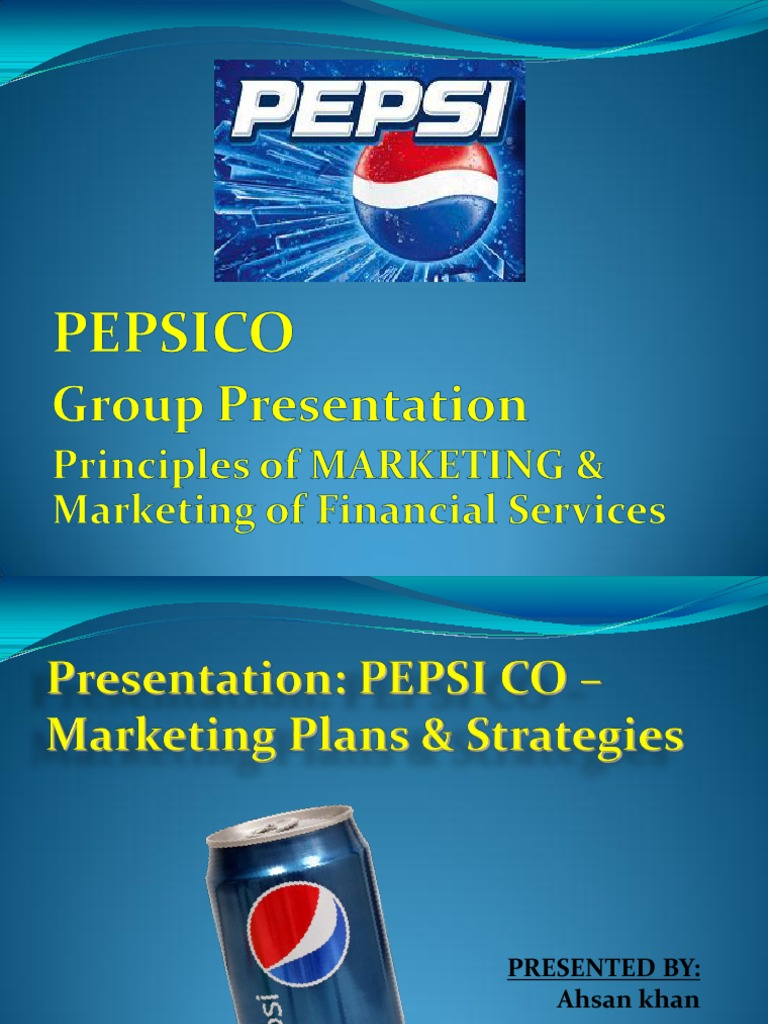 Pepsico marketing strategies | Pepsi Co | Business