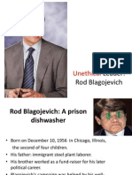 Rod Blagojevich Corruption Charges