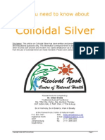 All You Need to Know About Colloidal Silver