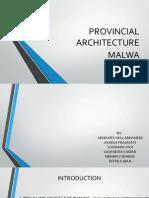 Provincial Architecture Malwa