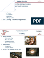 Casting process and different types of castings