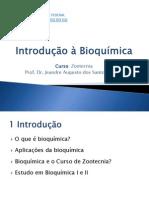 001 Introdução à Bioquímica