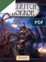 Eldritch Horror Rulebook