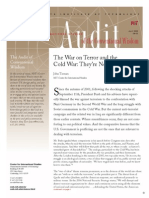 The War on Terror and the Cold War