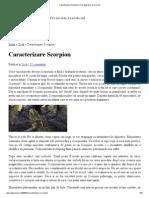 Caracterizare Scorpion _ Fac Depresie