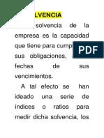 Grupo 4 Indice de Solvencia