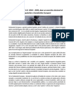 Lupta pe Bugetul U.E. 2014 – 2020, doar un exercitiu electoral al Popularilor si Socialistilor Europeni