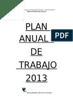 Plan Anual de Trabajo