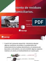 Tratamiento de Residuos Domiciliarios. (1)