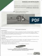 Scan Doc0001 Manual Instalacao SAMSUNG ASV09P 12P 18P 24P Series