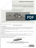 Scan Doc0001 Manual Instalacao SAMSUNG ASV09P 12P 18P 24P Series