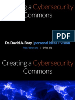 Creating a Cybersecurity Commons - Dbray