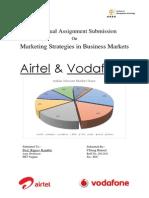 Business Marketing Airtel & Vodafone