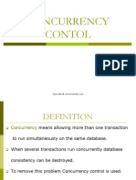 Concurrency Contol