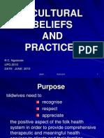 4. Cultural Beliefs & Practices June 09