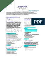 Examen EsSalud Con Clave - Neumologia - 25 Preguntas - Plus Medica 2001-2010