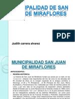 MUNICIPALIDAD  san juan de miraflores lima parte 1.ppt