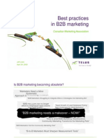 Best Practices in b2b Marketing2121.Ppt [Compatibility Mode]