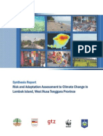 Risk and Adaptation Assessment to Climate Change in Lombok Island