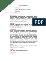 Gervão-roxo - Stachytarpheta  jamaicensis [L.] Vahl. - Ervas Medicinais – Ficha Completa Ilustrada