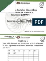 RESOLUCIÓN DE PROBLEMAS 13A ONMAPS