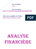 Cours Master Analyse Financiere