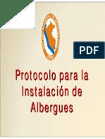 INSTALACIÓN DE ALBERGUES