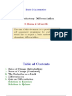 Easy Differentials Calculus