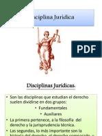 Disciplina Jurídica