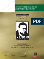 Perkin Award 2013 Brochure