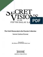 169805257 Karmay Samten Gyaltsen Ngawang Lozang Gyamtso Dalai Lama v Secret Visions of the Fifth Dalai Lama 258p PDF (1)