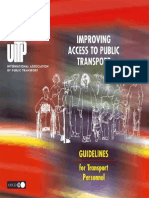 Improving Access to Public Transport