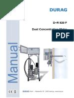 6-Dust Meter D-r 820 F-En
