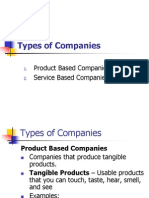 Lecture Module 2 - Types of Companies