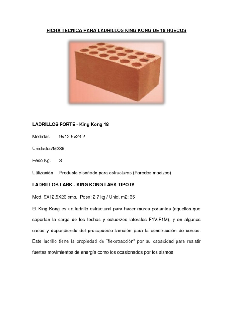 12 Pie De Ladrillo Perfect Comparativa Trans Termica With 12 Pie  # Muebles Dihogar