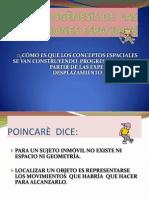 LA PSIGOGÈNESIS DE  LAS NOCIONES ESPACIALES