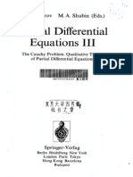 Partial Differential Equations 3