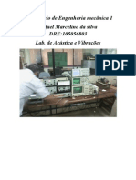 relatorio de vibrações lab1 Marcelino