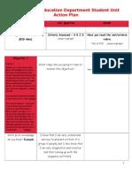 p e action plan unit 3