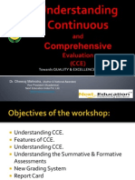 Excelling through Continuous and Comprehensive Assessment (CCE) for CBSE Schools