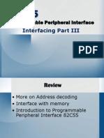 Microprocessor Interface