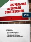 Procesos para una licencia de Construcción
